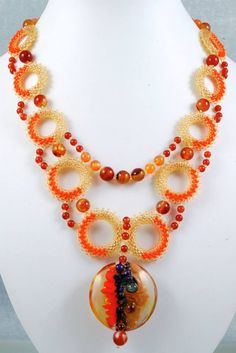 Beadwork Designs by Svetlana Dubinsky featured in Bead-Patterns.com Newsletter!