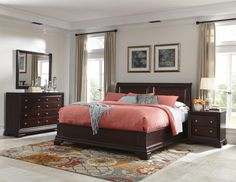 Newport King Bedroom Group by Cresent Fine Furniture. FM
