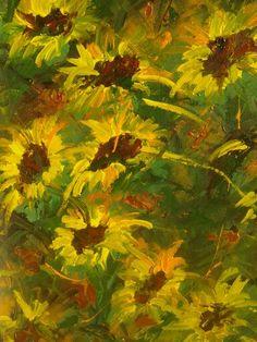 Artwork >> Arturo Arboleda Restrepo >> #sunflowers brighten  #artwork, #oil, #painting, #masterpiece, #contemporary, #beauty, #extraordinary
