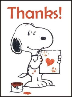 Thank you for following my Snoopy Board(s)!! - Marianne