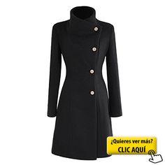 Nonbrand, Abrigo para mujer, doble botonadura,... #chaqueta
