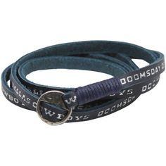 * Dallas Cowboys Ladies Leather Wrap Bracelet, $15.99