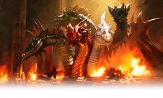 Resultado de imagen para tiamat dragon logo