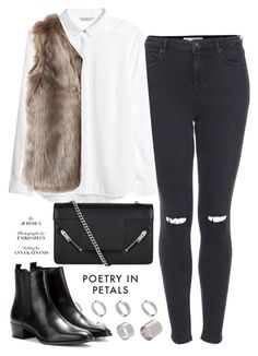 """""""Unbenannt #682"""" by piasfashion ❤ liked on Polyvore featuring ASOS, Yves Saint Laurent, Topshop, H&M and Chicwish"""