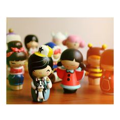 Sometimes you just need your friends close by. Momiji Dolls are message dolls. Inside each one there's a tiny folded card for your own secret message, dream or wish. Momiji Doll, Kokeshi Dolls, Kawaii Doll, Kawaii Stuff, Cute Gifts, Thoughtful Gifts, Harajuku, Boston, Kimono