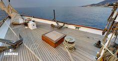 Herreshoff 136 ft Gaff Schooner 2000 - Sandeman Yacht Company Van Der Graaf, Luxury Sailing Yachts, Anchor Systems, Hydraulic Steering, Electric Winch, Classic Yachts, Elapsed Time, Black Water, British Isles
