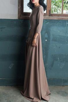 Floor Length Pleated Culotte Jumpsuit
