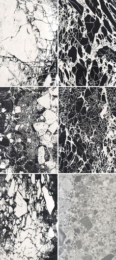 Monochrome Marble - black & white marbled print design                                                                                                                                                                                 More