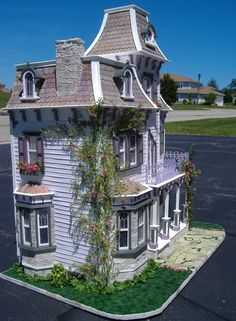 images of the beacon hill doll house | Custom Styled Dollhouse Kits: Beacon Hill Dollhouse By Tracy Topps