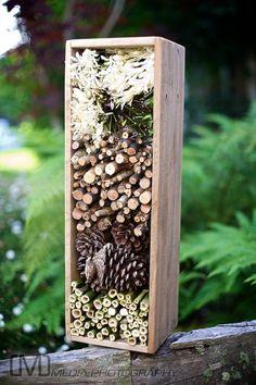 Insektenhotels Insect Nesting Box by woodandfeatherstudio Landscape Photography: Tips To Enhance The