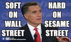Mitt Romney - Hard On Sesame Street