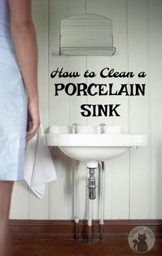 How to Clean a Porcelain Sink - Use these tips and…