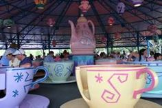 The Mad Tea Party! Opened in Disney World in 1971, and still one of the best rides!
