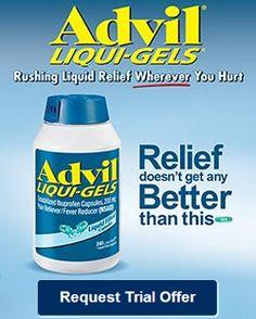 Sample of Advil Liqui-Gels  *Excludes Quebec*  http://womenfreebies.ca/free-samples/advil-liquigels/