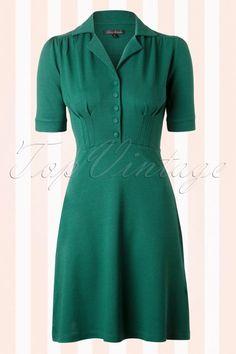 King Louie Diner Dress Green 106 40 12475 20140607 0005W