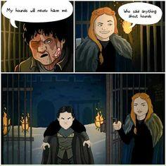 sansa stark ramsay bolton game of thrones comic Game Of Thrones Comic, Game Of Thrones Facts, Game Of Thrones Quotes, Game Of Thrones Funny, Game Thrones, Lady Mormont, Lyanna Mormont, Eddard Stark, Sansa Stark