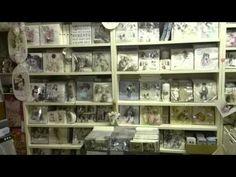 Pysselskafferiet i Gånghester - en mysig pysselbutik - YouTube