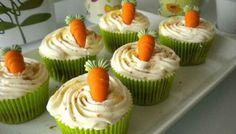 Cupcake tarta de zanahoria