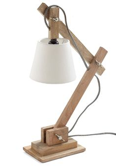 such a cool lamp - Rustic Splendor Lamp. Illuminate your cozy abode with this charming vintage-inspired desk lamp! Small Wood Projects, Diy Furniture Projects, Table Lamp Wood, Desk Lamp, Home Lighting, Lighting Design, Luminaria Diy, Cool Lamps, Rustic Lamps