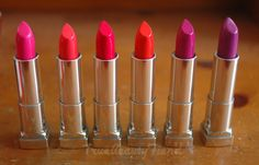 Confessions of a Beauty Addict: Maybelline Color Sensational Vivids.