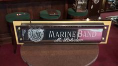 "28"" Hohner Marine Band Harmonica German Retail Store Advertising Sign FO..."