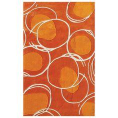 Lysander Rug in Orange