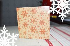 #christmascard #snowflake #snow #card #mail #post #julkort