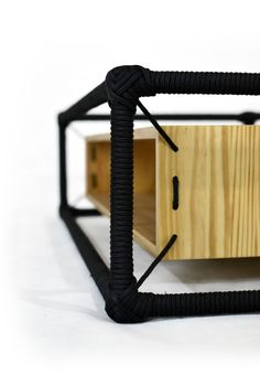 Mesa Cordas - Rope Table by Gustavo Martini, via Behance