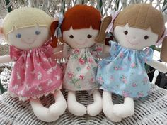 Darling rag doll patterns