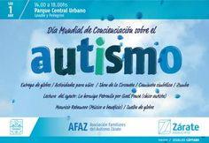 Zárate habla de autismo en el Parque Urbano