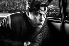 Still of Joseph Gordon-Levitt in Sin City: A Dame to Kill For (2014) Character: Johnny #movie #movies #watch #films #film #online #sincity #sincity2 #sincity2014