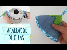 AGARRADOR DE OLLAS PASO A PASO | Yuyi's Creations - YouTube Sewing Tutorials, Sewing Crafts, Sewing Ideas, Made Goods, Getting Things Done, Homemade Cards, Pot Holders, Crafty, Youtube