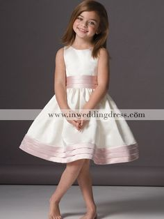 Flower girl dresses with navy instead of the pink!!!! soo cute!!!!