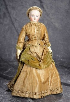 """16"""" French bisque """"S... Auctions Online 