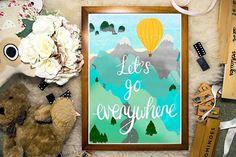 Let's go everywhere ...