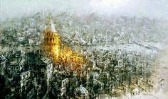 Bulent Kilic 1974   Seascape / Cityscape painter   Tutt'Art@   Pittura • Scultura • Poesia • Musica