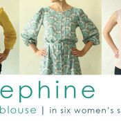 josephine pattern is here! made by rae