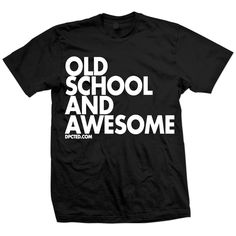 Old Awesome Tee Unisex Black