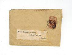 GB QV VICTORIA USED NEWSPAPER WRAPPER PRE PRINTED 1/2d BROWN F.B.- D CANCEL | eBay