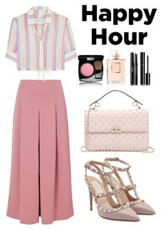 """💓💓"" by syifasalz on Polyvore featuring TIBI, Solid & Striped, Chanel and Valentino"