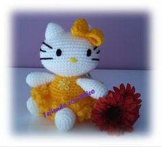 Tejiendo con Chico: Hello Kitty 6