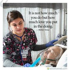 Could it be anymore obvious that that is a respiratory therapist and NOT a nurse? Love My Job, Love You, Hospice Nurse, Nurse Love, Nurse Jackie, Respiratory Therapy, Nurse Quotes, Quotes About Nurses, Nurse Sayings
