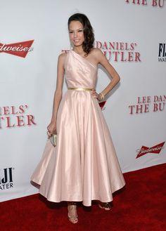 Keisha Whitaker in Prada at 'The Butler' LA Premiere