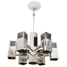 Italian 1970s Scolari Fixture | From a unique collection of antique and modern chandeliers and pendants  at https://www.1stdibs.com/furniture/lighting/chandeliers-pendant-lights/