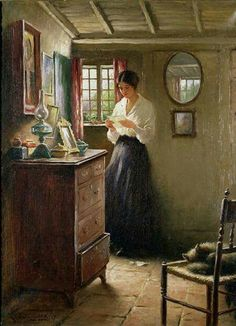 William Kay Blacklock  The Letter