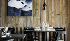 restaurant interior wall seating - Google Search