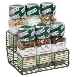 Spice Hunter Gift Set, Grinders Mini-Rack, 13.7-Ounce
