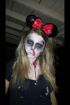 My Bestie Dead Minnie Mouse Makeup Is Ing Sweet