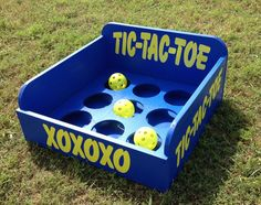 Tic Tac Toe Carnival Game For Birthday, Church, Vbs Or School Party