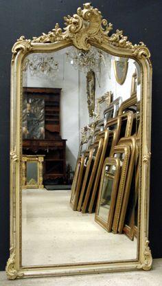 Antique French mirror - Louis XV style